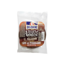 Delishine teljes kiőrlésű puffasztott rozsszelet kávé ízű bevonat 22g