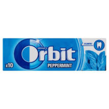 ORBIT rágógumi Peppermint 14g