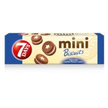 7Days Mini keksz vaníliás töltelékkel töltött 100g