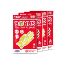Bonus gumikesztyű L méret