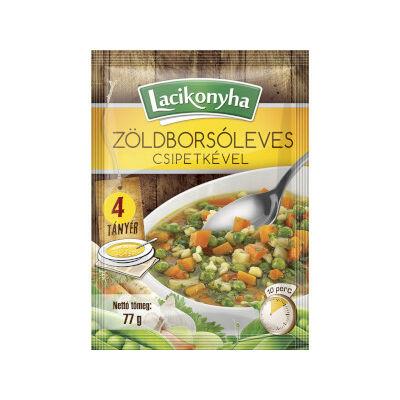 Lacikonyha Zöldborsóleves csipetkével 77g