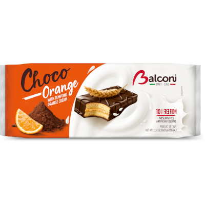 Balconi Choco Orange piskótaszelet 350g