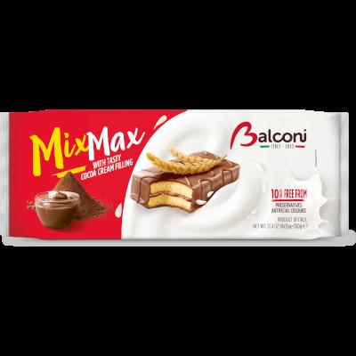 Balconi Mix-Max piskótaszelet kakaós 350g