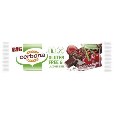 Cerbona gluténmentes csokis-meggyes 35g