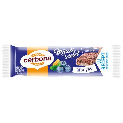Cerbona szelet Áfonyás-Joghurtos 20g