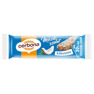 Cerbona szelet Csokis-Kókuszos 20g