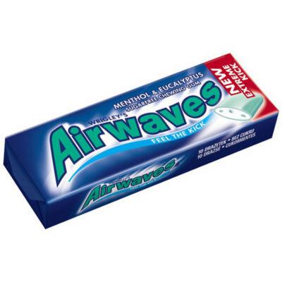 Airwaves cukormentes rágógumi menthol & eucalyptus 14g