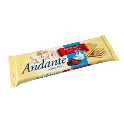 Andante csokoládés nápolyi tejes krémmel töltve 130g